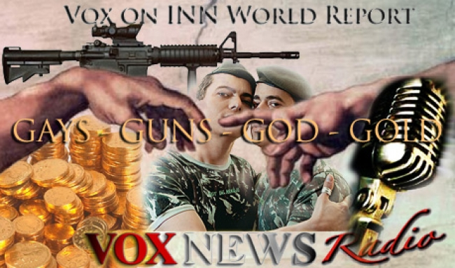 gays guns god gold