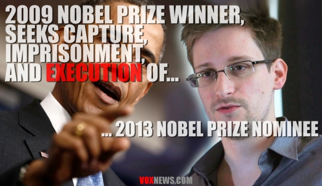 2009 Nobel Prize Winner Hunts 2013 Nobel Nominee