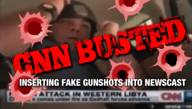 CNN CAUGHT FAKING GUNSHOTS