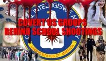 PRIVATE US COVERT GROUPS BEHIND SCHOOL SHOOTINGS