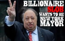 Billionaire Slob Wants More Power