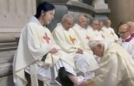 Surprise at Papal Foot Wash