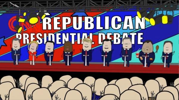 Republican Debate in a NUTshell